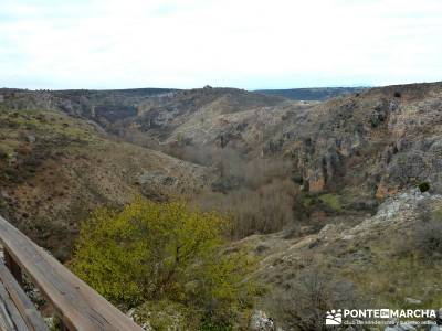 Barranco Río Dulce; monasterio rascafria tiendas senderismo madrid rascafria el paular
